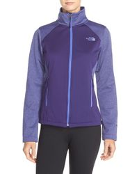 The North Face | Purple Canyonwall Hardface Fleece Jacket | Lyst