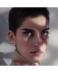 Ralph Masri - Red Ruby Star Earrings - Lyst