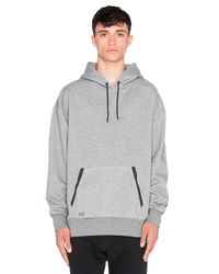 Puma Select Gray X Stampd Oversize Hoody for men