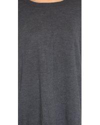 525 America | Gray Merino Wool Tunic | Lyst
