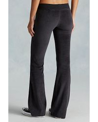 True Religion | Black Velour Womens Sweatpant | Lyst
