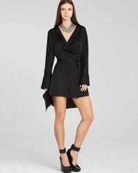 BCBGMAXAZRIA Black Diane Dress