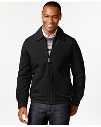 Perry Ellis - Black Big And Tall Performance Golf Jacket for Men - Lyst