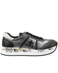 Premiata | Metallic Sneakers | Lyst