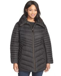 Marc New York | Black 'kirby' Pillow Collar Down & Feather Jacket | Lyst