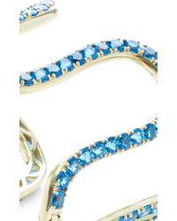 Sabine G | Metallic Blue Topaz Wiggly Cuff | Lyst