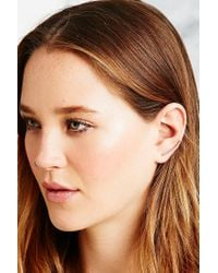 Urban Outfitters Metallic Ear Climber Earring in Gold