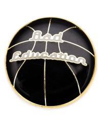 Hyein Seo | Black Basketball Pin | Lyst