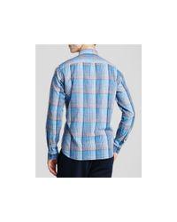 Vince Blue Clean Melrose Button Down Shirt - Slim Fit for men