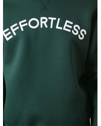 N°21 - Green Embroidered Sweatshirt for Men - Lyst