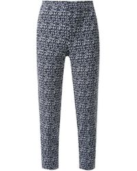 Scanlan Theodore Blue Dylan Trousers