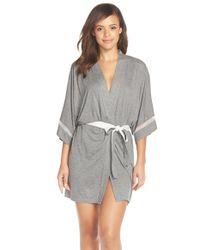 Kensie - Gray 'seasonal Keepers' Kimono - Lyst