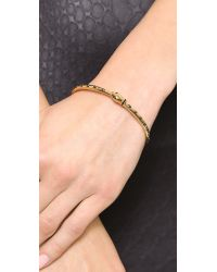 Marc By Marc Jacobs | Metallic Snake Bangle Bracelet Oro | Lyst