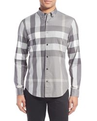 Burberry Multicolor Fred Check Sport Shirt for men