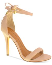 Chinese Laundry - Natural Jealous Two Piece Dress Sandals - Lyst