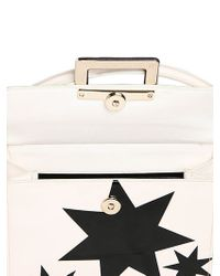 Roger Vivier Black Miss Viv Stars Patent Leather Bag