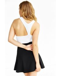Truly Madly Deeply White Asymmetrical Tank Top