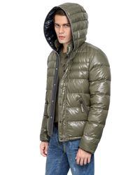 Duvetica Green Racio Nylon Down Jacket for men