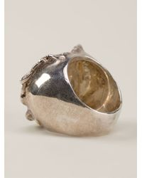 Rosa Maria - Metallic 'Martha' Ring - Lyst