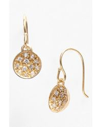 Melinda Maria | Metallic 'nicole' Small Drop Earrings | Lyst