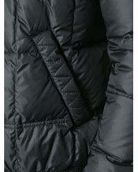 Fendi - Gray Quilted Padded Jacket for Men - Lyst