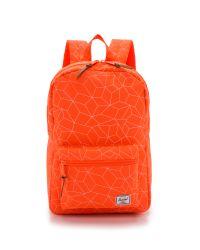 Herschel Supply Co. - Orange Settlement Mid Volume Backpack - Neon Sequence - Lyst