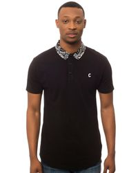 Crooks and Castles - Black The Bandit Polo for Men - Lyst