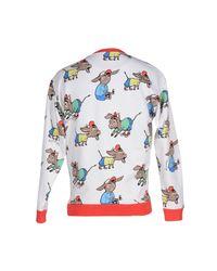 Au Jour Le Jour - White Sweatshirt for Men - Lyst