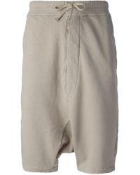 Kris Van Assche - Natural Short Track Trousers for Men - Lyst