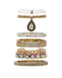 Samantha Wills - Multicolor Reality Of Dreams Bracelet Set - Lyst