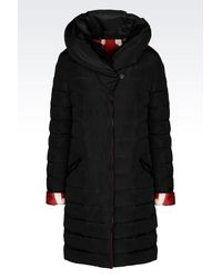 Emporio Armani - Black Reversible Ikat-Print Jacket  - Lyst