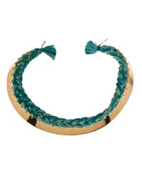 Aurelie Bidermann | Green 'copacabana' Necklace | Lyst