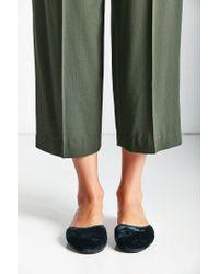 Urban Outfitters | Blue Velvet Slide Slipper | Lyst