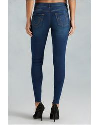 True Religion | Blue The Runway Legging | Lyst
