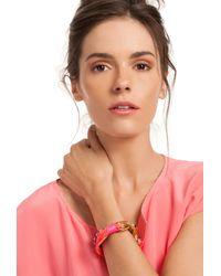 Trina Turk | Orange Climbing Rope Flex Bracelet | Lyst