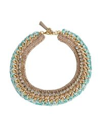 First People First | Green Necklace | Lyst