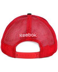 Reebok | Green Detroit Red Wings Camo Trucker Cap for Men | Lyst