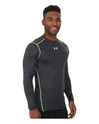 Under Armour | Gray Ua Coldgear® Armour® Twist Compression Crew for Men | Lyst