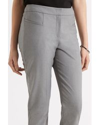 Oasis Gray Bonnie Workwear Trousers