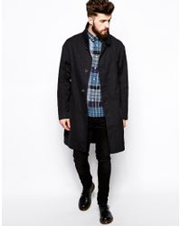 Nudie Jeans - Black Nudie Sander Over Coat for Men - Lyst