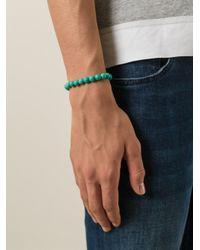 Fefe | Blue Stone Bead Bracelet for Men | Lyst