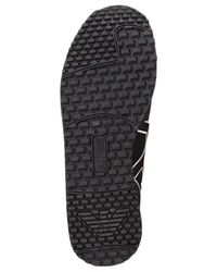 Armani Jeans Black Trainer Sneakers for men