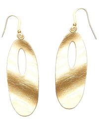 Nakamol | Multicolor Ripple Effect Earrings-gold | Lyst