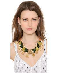 Holst + Lee - Metallic Holst Lee Pineapple Princess Necklace - Lyst
