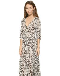 Spell Multicolor Wild One Gown - Dust
