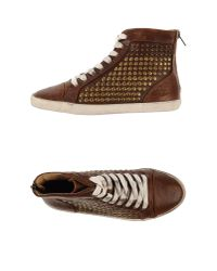 Frye Brown High-Tops & Trainers
