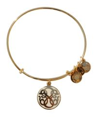 ALEX AND ANI | Metallic Path Of Life Epoxy Expandable Wire Bangle | Lyst