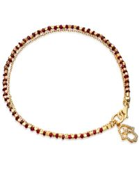 Astley Clarke | Metallic 'hamsa Fine Biography' Ruby And Diamond Bracelet | Lyst
