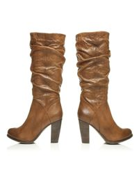 Moda In Pelle Brown Dortmund High Casual Short Boots