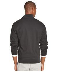 Polo Ralph Lauren | Black Pieced Interlock Track Jacket for Men | Lyst